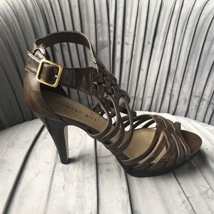 Madden Girl NWOT Size 10 Brown 4 inch heels